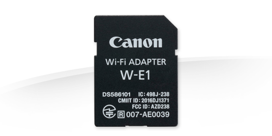 Адаптер Wi-Fi Adapter W-E1 для 7D Mark II/5DS/5DSR