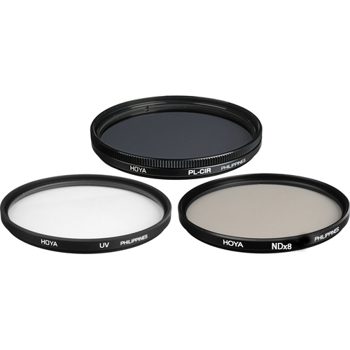 Комплект светофильтров Hoya DIgital filter kit: UV (C) HMC Multi, PL-CIR, NDX8 52mm