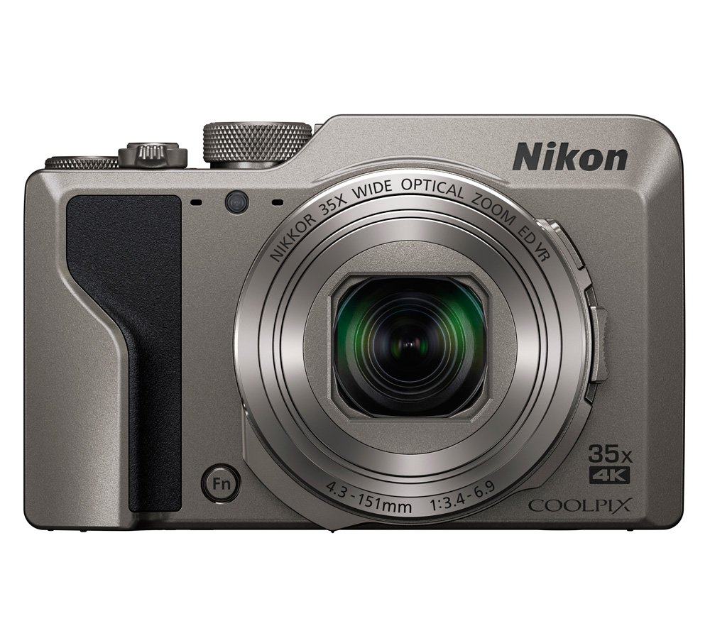 Фотоаппарат Nikon Coolpix A1000 Silver (16Mp/35x/4K/Wi-Fi/BT)