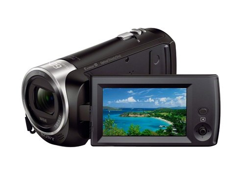 "Видеокамера Sony HDR-CX405 Black (2.29Mp/Full HD/1/5.8""/26.8-804мм f1.8-4)"