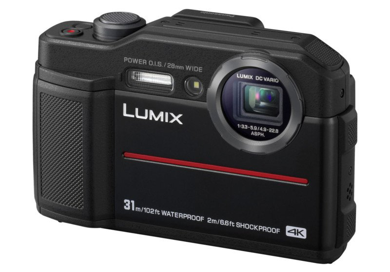 Фотоаппарат Panasonic Lumix DC-FT7EE-K Black (20Mp/4.6x/4K/Wi-Fi)