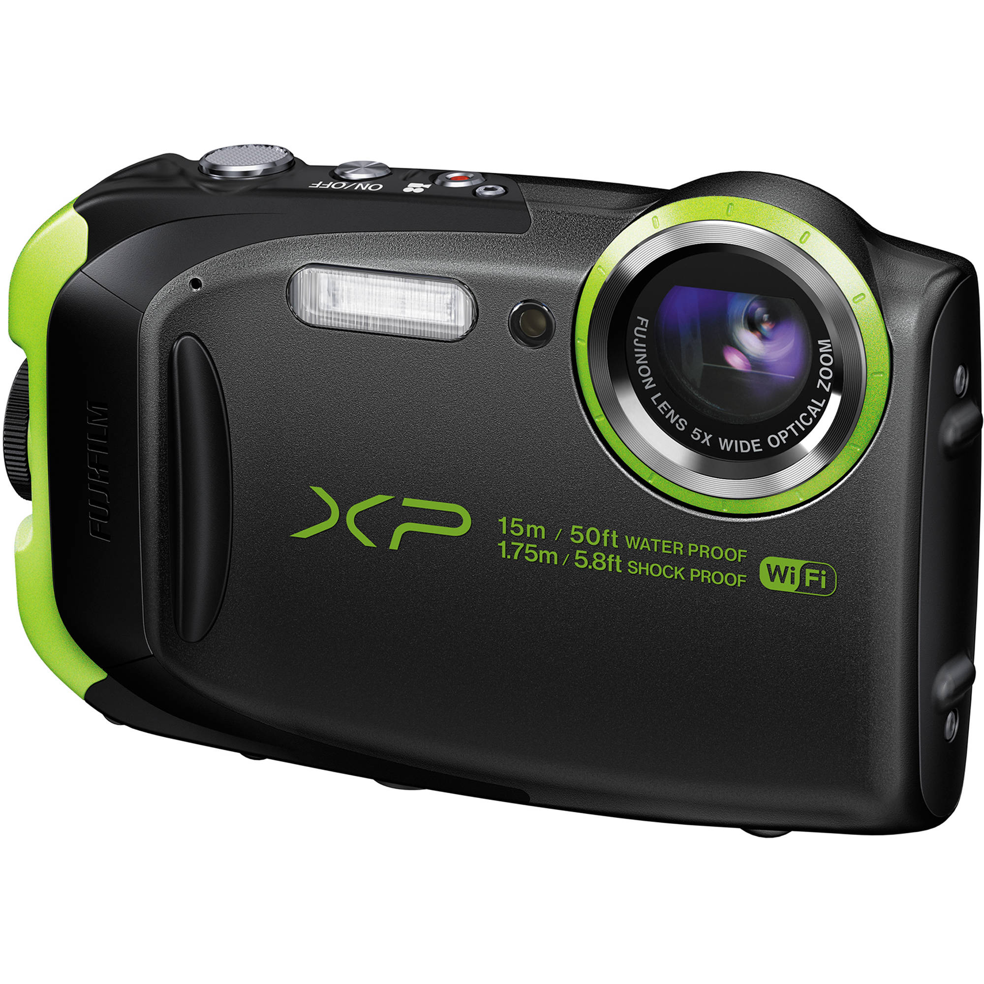 Фотоаппарат Fujifilm FinePix XP80 graphite black