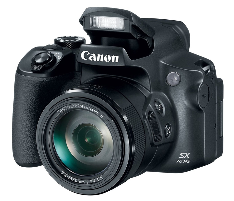 Фотоаппарат Canon PowerShot SX70 HS Black (20.3Mp/65x/4k/Wi-Fi/BT)