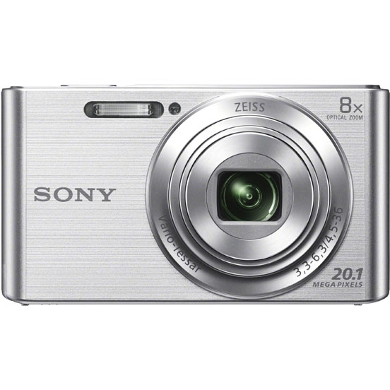 Фотоаппарат Sony Cyber-shot DSC-W830 Silver (20.5Mp/8x/HD)