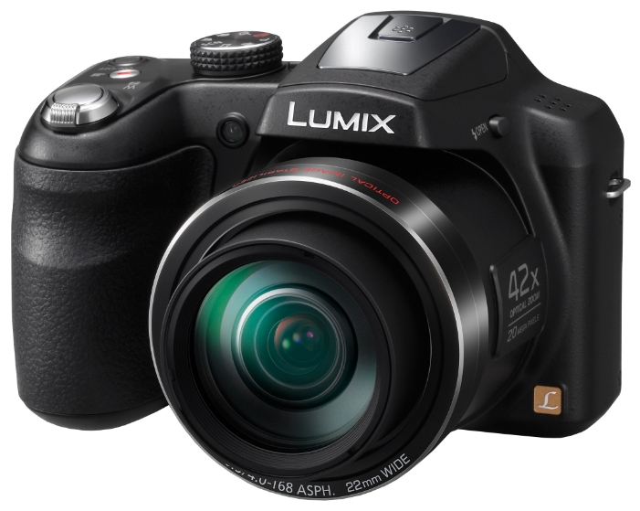 "Фотоаппарат Panasonic Lumix DMC-LZ40 (20Mp, 42x, 3"", 1080, SDXC, Li-Ion), черный"