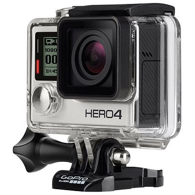 Спорт-камера GoPro HERO4 Silver Edition - Adventure (CHDHY-401) (3840х2160 Пикс (Ultra HD 4K/15 кадр