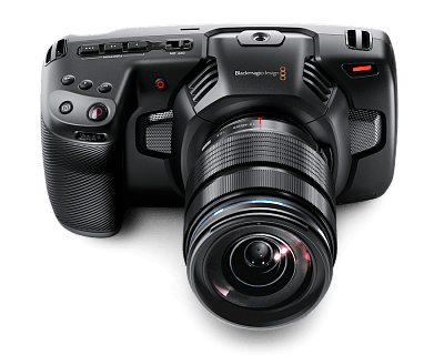 Видеокамера Blackmagic Pocket Cinema Camera 4K