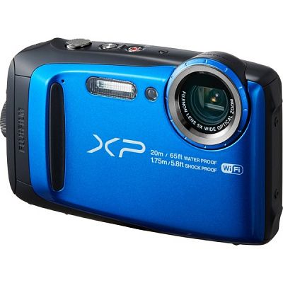 Фотоаппарат Fujifilm FinePix XP120 Blue (16.4Mp/5x/FullHD/Wi-Fi/BT)