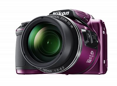 Фотоаппарат Nikon Coolpix B500 Purple (16.76Mp/40х/FullHD/Wi-Fi)