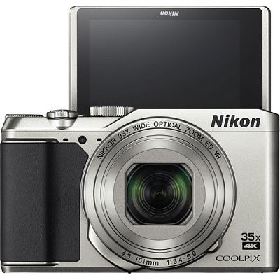 Фотоаппарат Nikon Coolpix A900 (21.1Mp/35x/4K/Wi-Fi/BT) Silver