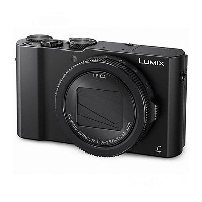 Фотоаппарат Panasonic Lumix DMC-LX15 Black (20Mp/24-72mm f/1.4-2.8/4K/WiFi)
