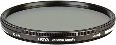 Светофильтр Hoya ND Variable Density 52mm, нейтрально-серый с переменной пропускной способностью