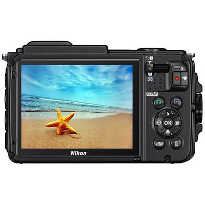 "Фотоаппарат Nikon Coolpix AW130 Camouflage Diving Kit (16Mp, 5x zoom, SD, USB, 3"", GPS+ГЛОНАСС, Водо"
