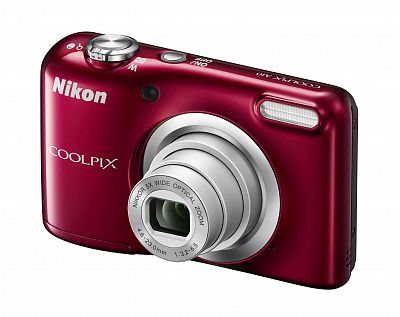 Фотоаппарат Nikon Coolpix A10 RD (16Mp, 5x zoom, SD, USB) красный