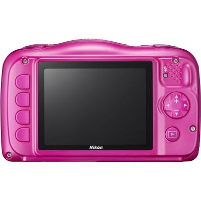 Фотоаппарат Nikon Coolpix W100 Pink Backpack kit (13.2Mp/3x/FullHD/Wi-Fi)