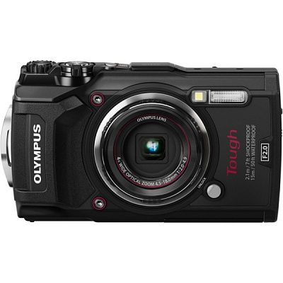 Фотоаппарат Olympus Tough TG-5 Black (12Mp/4x/4K/Wi-Fi/GPS)