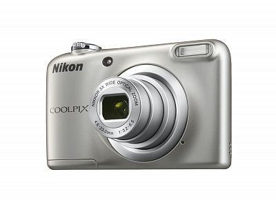 Фотоаппарат Nikon Coolpix A10 Silver (16Mp/5x/HD)