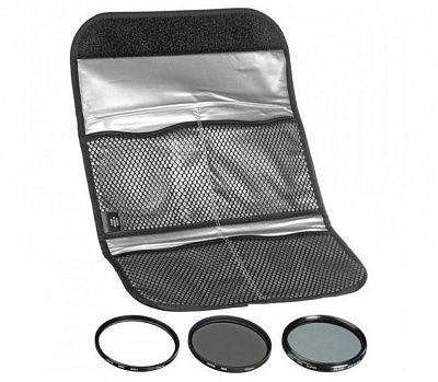 Комплект светофильтров Hoya DIgital filter kit: UV (C) HMC Multi, PL-CIR, NDX8 77mm