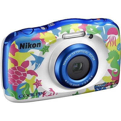 Фотоаппарат Nikon Coolpix W100 (14.17Mp/3x/FullHD/10m), Marine Backpack kit