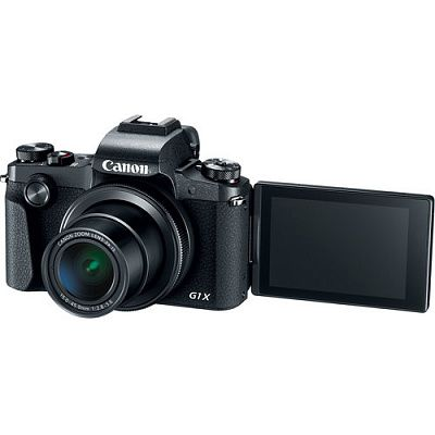 Фотоаппарат Canon PowerShot G1 X Mark III (24.2Mp/15-45mm f/2.8-5.6/FullHD/WiFi/BT)