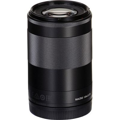 Объектив Canon EF-M 55-200mm f/4.5-6.3 IS STM Black