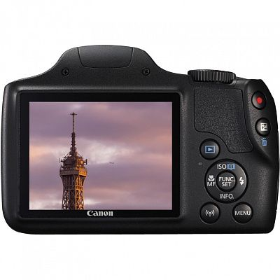 Фотоаппарат Canon PowerShot SX540 HS Black (20Mp/50x/FullHD/Wi-Fi)