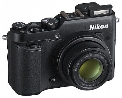 Фотоаппарат Nikon CoolPix P7800 (12.2Mp, 7.1x zoom, SD, USB), черный