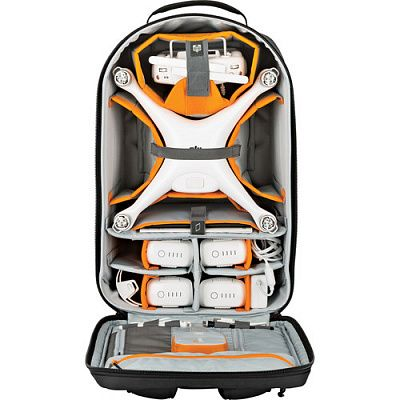 Рюкзак для квадрокоптера Lowepro DroneGuard BP 400, черный