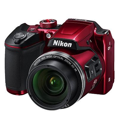 Фотоаппарат Nikon Coolpix B500 Red (16.76Mp/40х/FullHD/Wi-Fi)