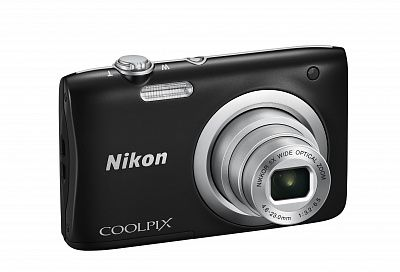 Фотоаппарат Nikon Coolpix A100 Black (20.4Mp/5x/HD)